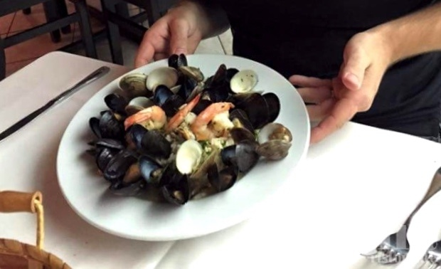 Risotto Shrimp Mussels Clams