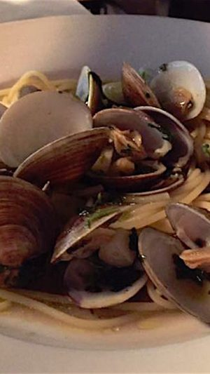 Spaghetti Vongole Clams Fort Lauderdale